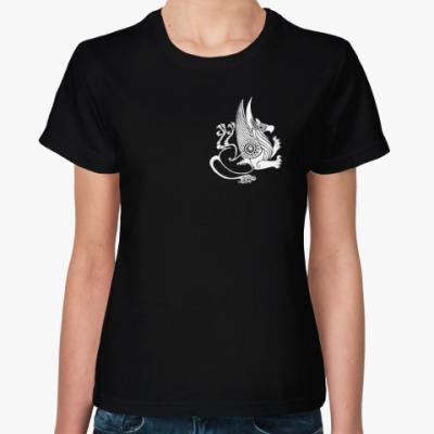 Женская футболка Скифский грифон