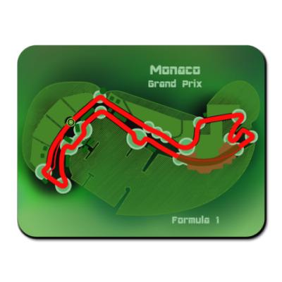 Коврик для мыши Формула 1 Монако