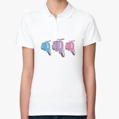 Женская рубашка поло Vespa