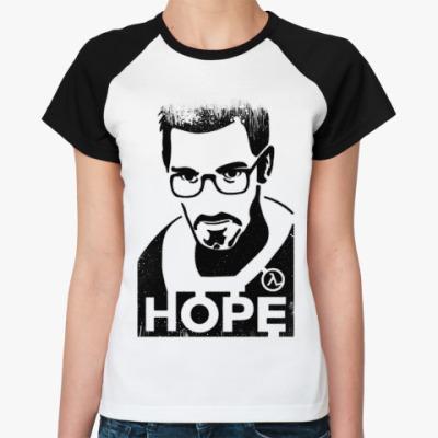 Женская футболка реглан Half-Life