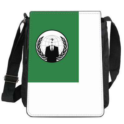Сумка-планшет Anonymous, we are Legion!