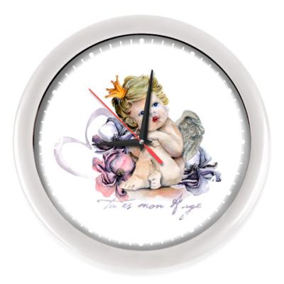 Настенные часы Время Купидона