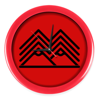 Настенные часы Символ Твин Пикс Twin Peaks
