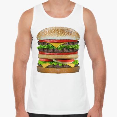 Майка Вкусняшка гамбургер