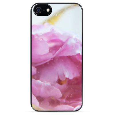 Чехол для iPhone Акварельный цветок