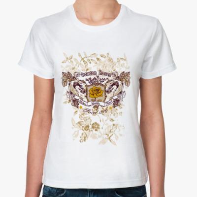 Классическая футболка  футболка