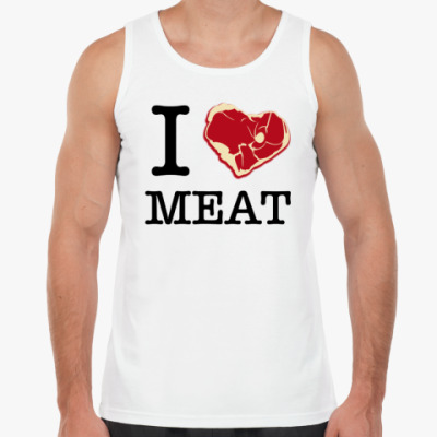 Майка I love meat