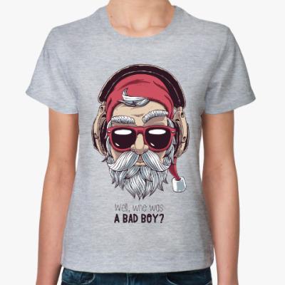 Женская футболка Who was a bad boy?