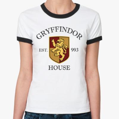 Женская футболка Ringer-T Gryffindor