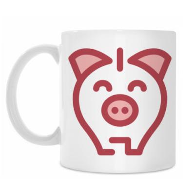 Кружка Cute Piggy Bank