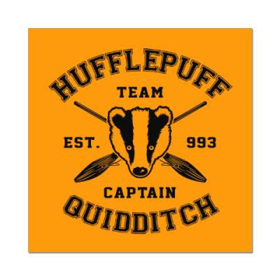 Наклейка (стикер) Hufflepuff Quidditch Team
