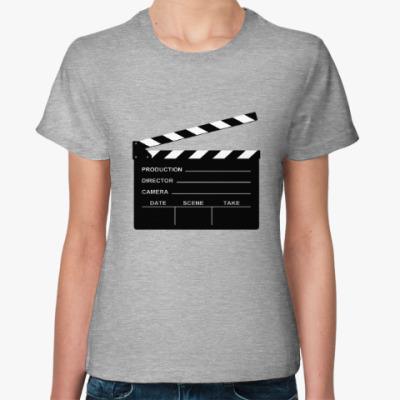 Женская футболка Хлопушка КИНО