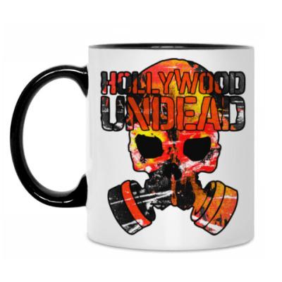 Кружка Hollywood Undead Gas Mask