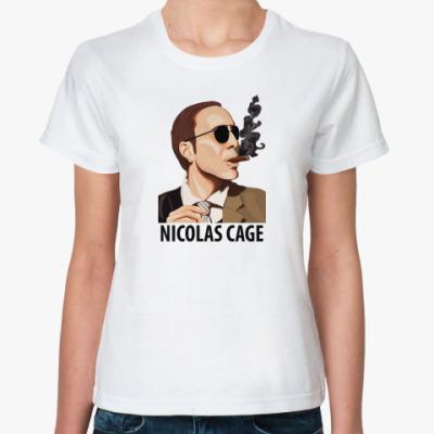 Классическая футболка  Кейдж