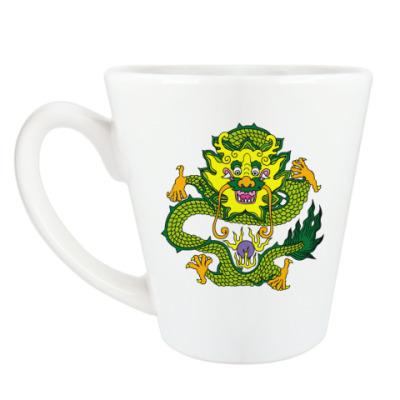 Чашка Латте 'Дракон'