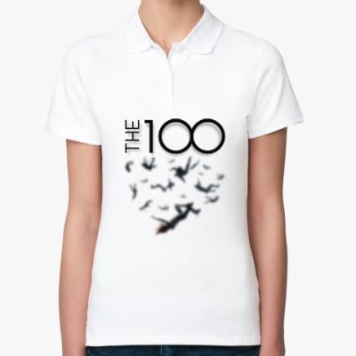 Женская рубашка поло The 100