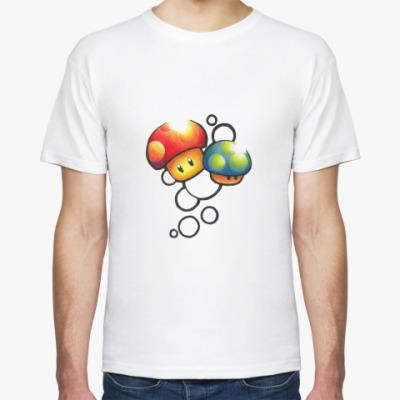 Футболка Mario Mushrooms
