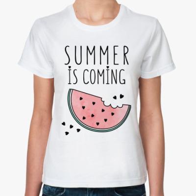 Классическая футболка Лето близко