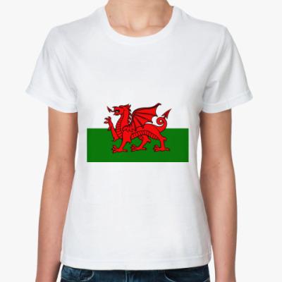 Классическая футболка  Wales!