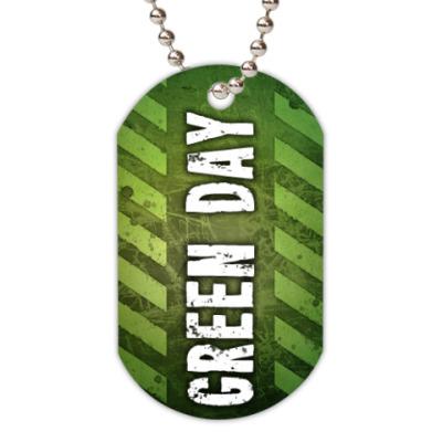 Жетон dog-tag Green Day