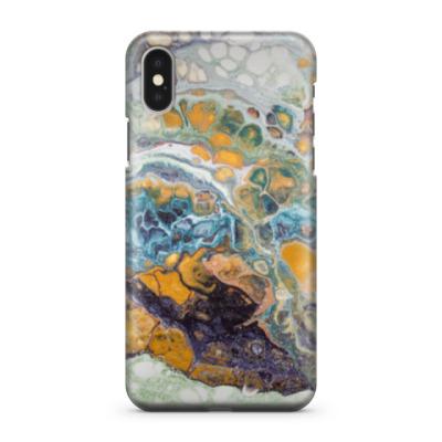 Чехол для iPhone X Текущая краска