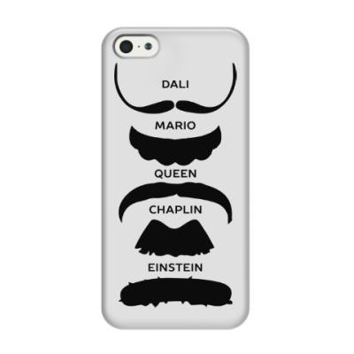 Чехол для iPhone 5/5s Усы Знаменитостей