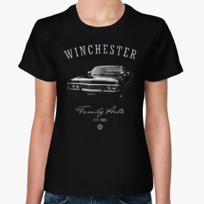Женская футболка Winchester Family Auto