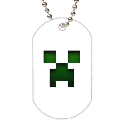 Жетон dog-tag  Minecraft