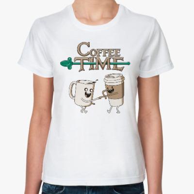 Классическая футболка Coffee Time
