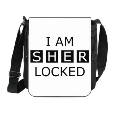 Сумка на плечо (мини-планшет) I am sherlocked