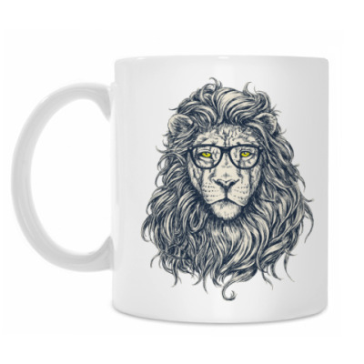 Кружка Stylish Lion