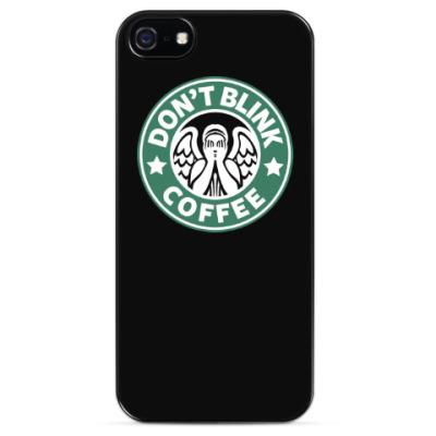 Чехол для iPhone Don't Blink Coffee