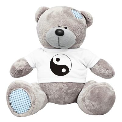 Плюшевый мишка Тедди Я гармоничная личность. Инь ян