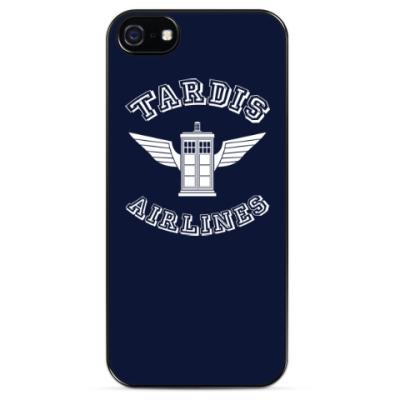 Чехол для iPhone Tardis Airlines