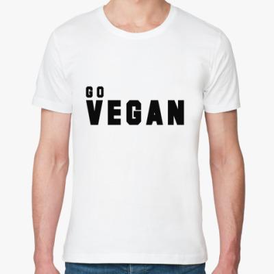 Футболка из органик-хлопка vegan