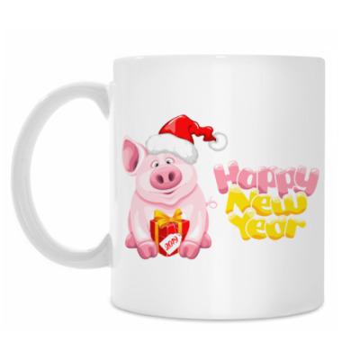 Кружка Символ 2019 года свинья