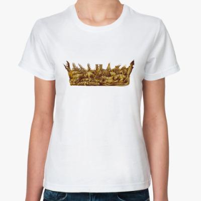 Классическая футболка Игра Престолов: Корона