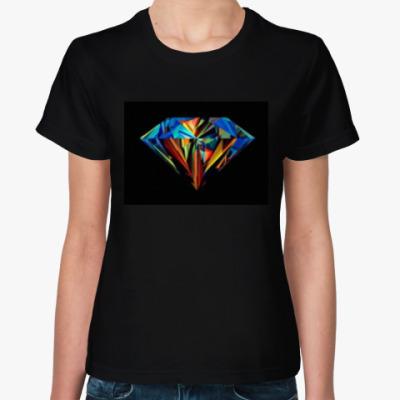 Женская футболка Shine like a diamonds