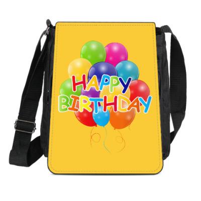 Сумка-планшет Happy Birthday