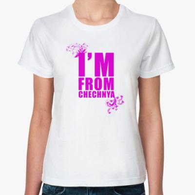 Классическая футболка IM FROM CHECHNYA