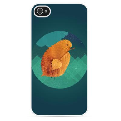 Чехол для iPhone Цыпленок, большой и одинокий