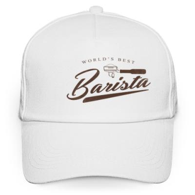 Кепка бейсболка World's Best Barista