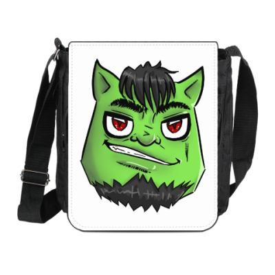 Сумка на плечо (мини-планшет) Зелёный