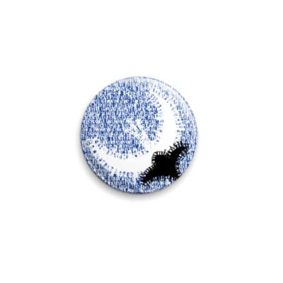 Значок 25мм  Лунный Цветок