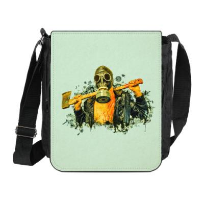 Сумка на плечо (мини-планшет) Zombie Killer