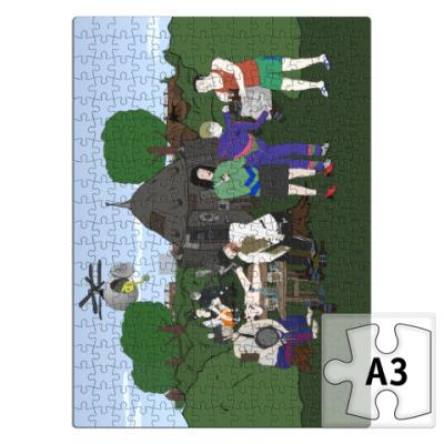 Пазл Пазл прямоугольник А3 вертикальный