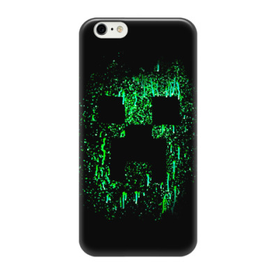 Чехол для iPhone 6/6s Minecraft Creeper