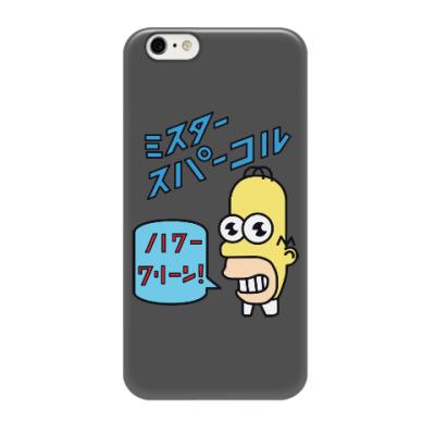 Чехол для iPhone 6/6s Симпсоны: Японский Гомер