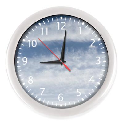 Настенные часы Про облака