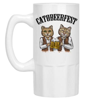 Пивная кружка Catobeerfest
